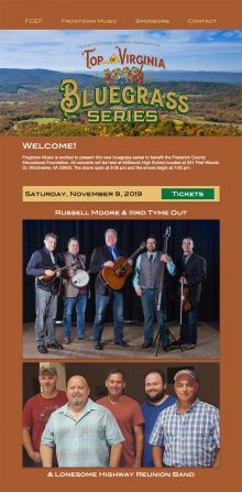 Top of Viriginia Bluegrass Series