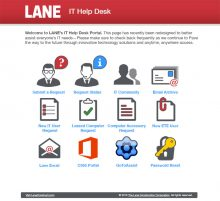Lane IT Help Desk